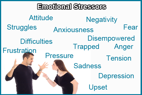 stressor and stress