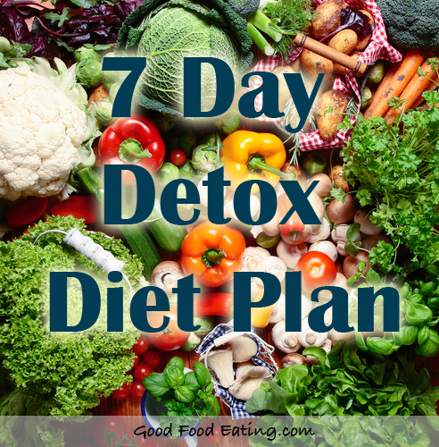 7 day detox diet plan