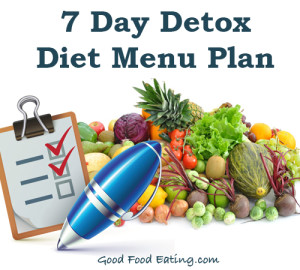 detox diet menu plan