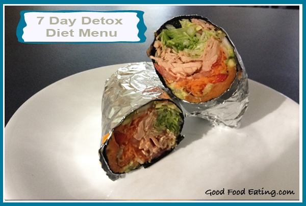 7 Day Detox Diet Menu: Day 2