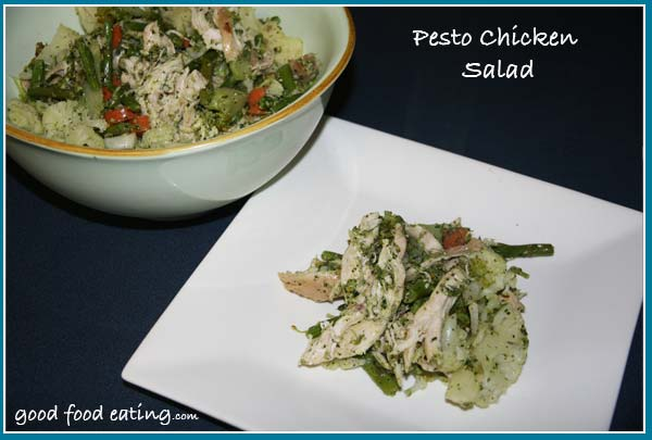Salad: Chicken Pesto Recipe