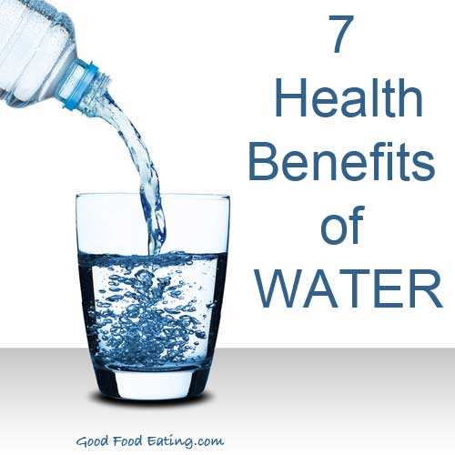 7 health benefits of water