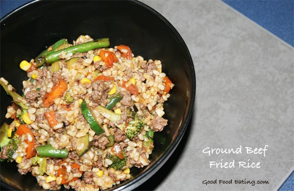 Ground-beef-fried-rice