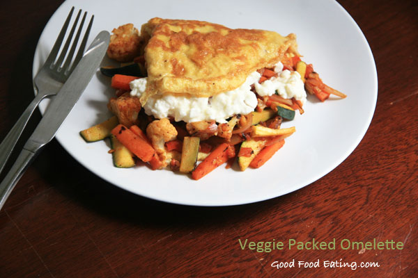 Veggie-packed-omelette