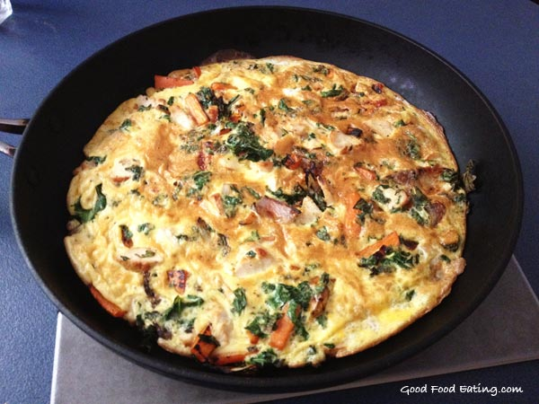 chicken-and-kale-frittata