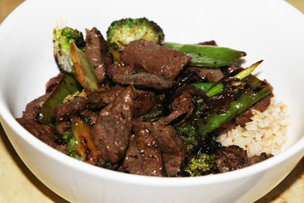 Chinese Beef Broccoli & Snow Pea Recipe
