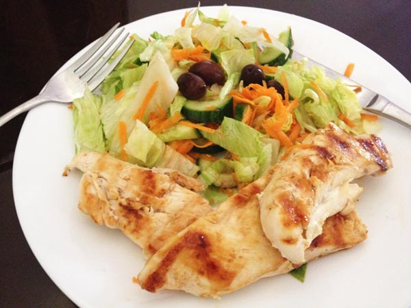 pan-fried-chicken-and-salad