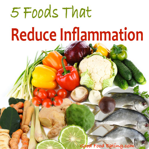 5 foods that reduce inflammation for Best fish oil to reduce inflammation