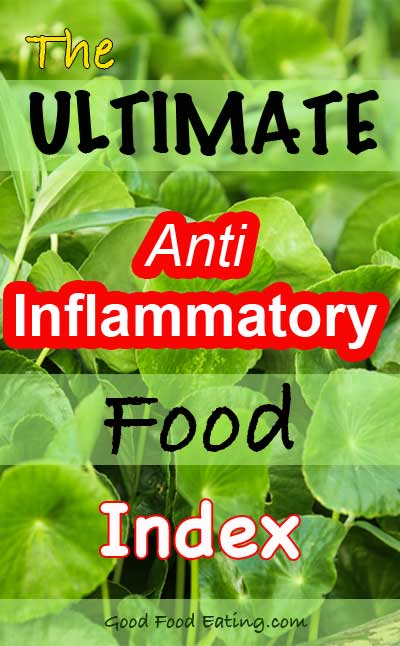 The Ultimate Anti Inflammatory Food Index