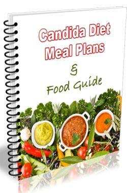 Candida meal plans and food guide