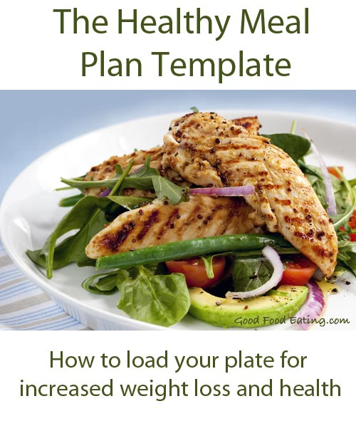 The Healthy Eating Meal Plan Template