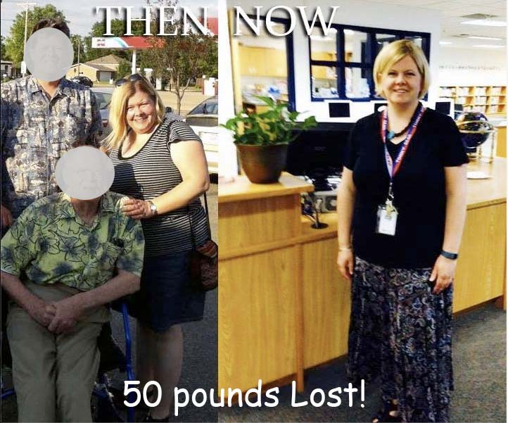 Transformation Tuesday: Lorna Loases 50 pounds!