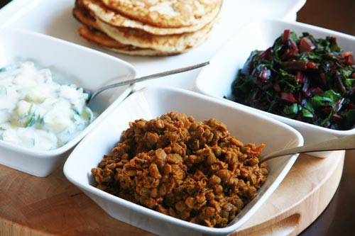 Lentil Curry Feast