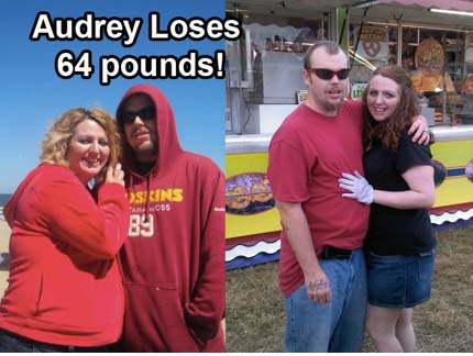 Transformation Tuesday: Aubrey Loses 64 Pounds!