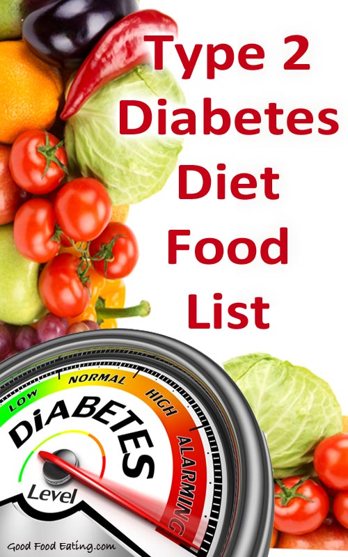 Type 2 Diabetes Diet Food List