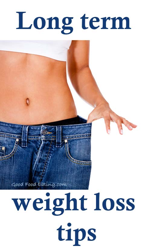 Long Term Weight Loss Tips