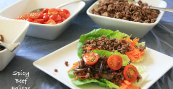 Spicy Beef Fajita Recipe (and cooking class)