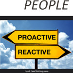 Habits of Healthy People - Part 1 Be Proactive