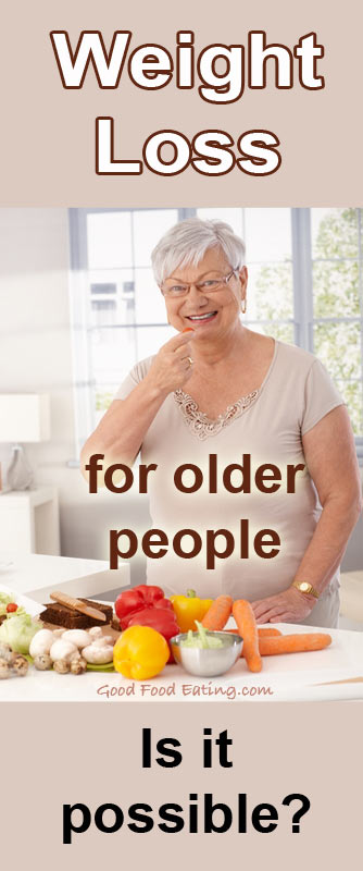 Weight Loss In Older People