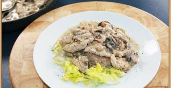 Low Carb Diary Free Creamy Chicken Recipe