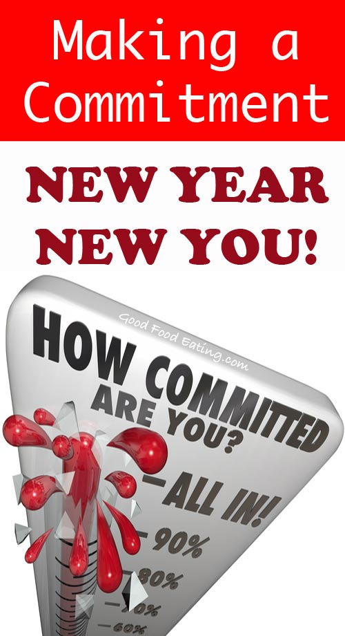 New Year, New You. Making Commitments