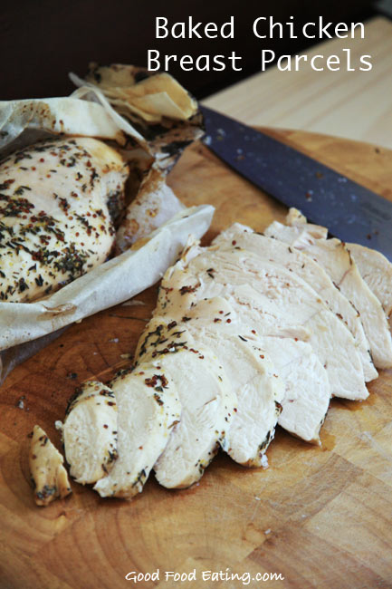 Healthy Baked Chicken Breast Parcels