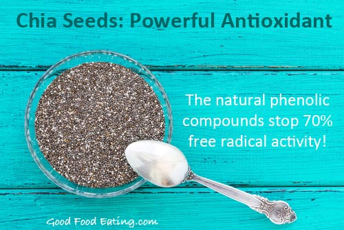 Chia seeds: Powerful antioxidant