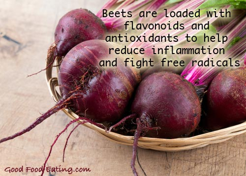 Beets and antioxidants