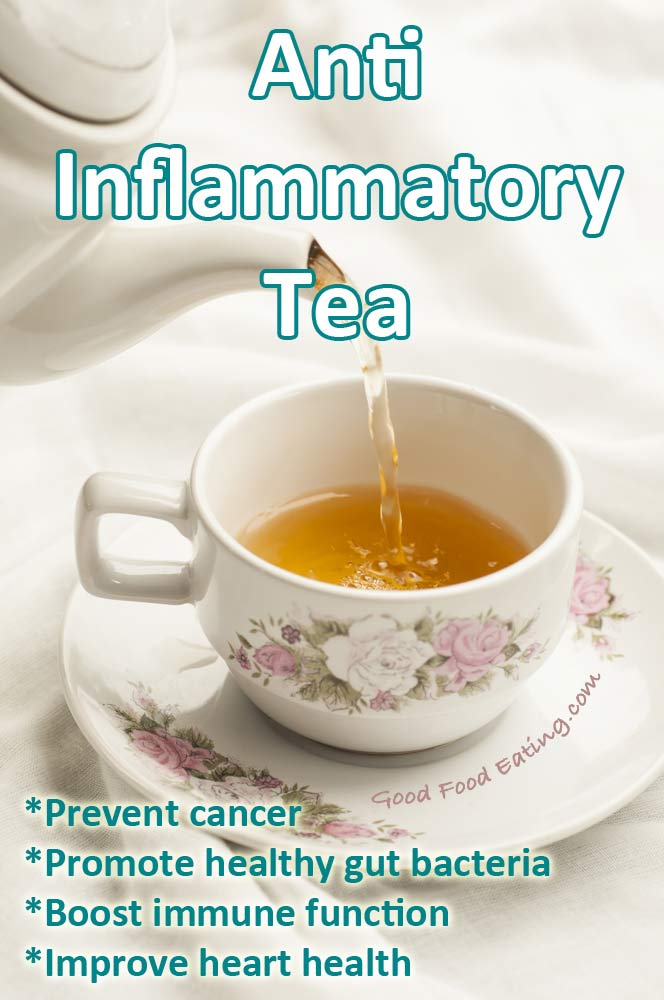 Anti-Inflammatory Tea for amazing health benefits.