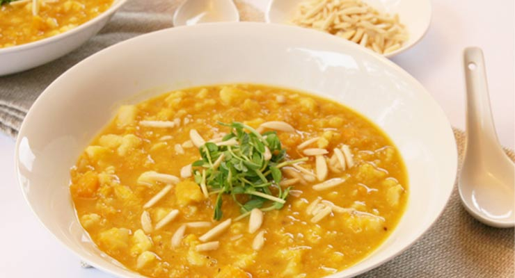 Anti-Inflammatory Recipe: Swet Curry Lentil Soup