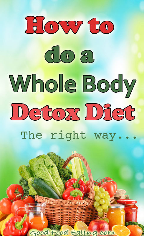 How to do a Whole Body Detox Diet - the right way!