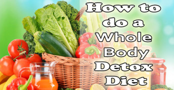 Whole body detox diet