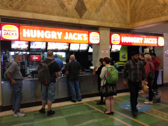 Whats the best option to eatat hungry jacks