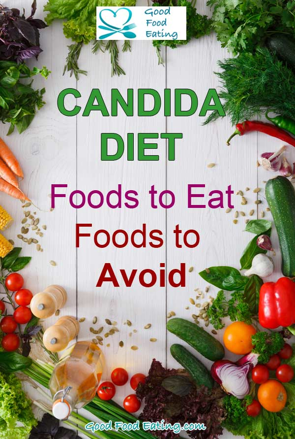 Following a candida diet? Here's the recommended food list to eat and avoid